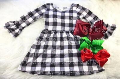 Buffalo Plaid Tunic/Dress