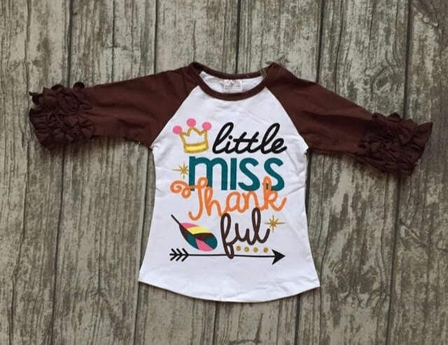 Little Miss Thankful Raglan