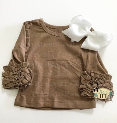 Icing Long Sleeve- Coffee