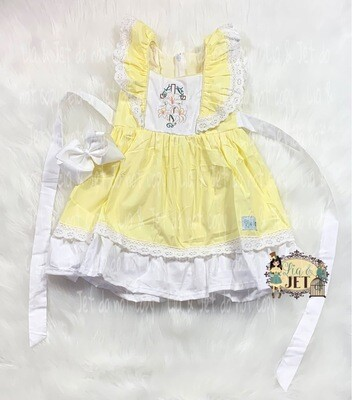 Lia & Jet Exclusive- Sunday in Easter Yellow