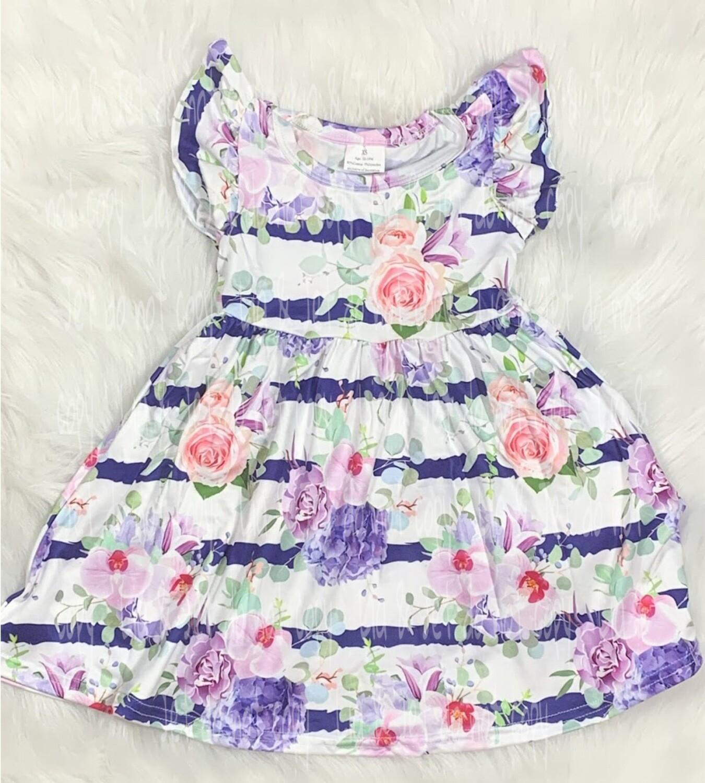 Lilac Garden Dress