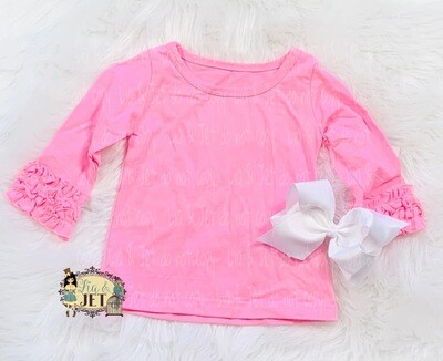 Icing Long Sleeve- Pink