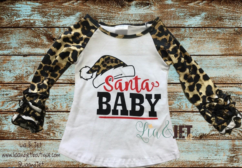 Santa Baby in Cheetah