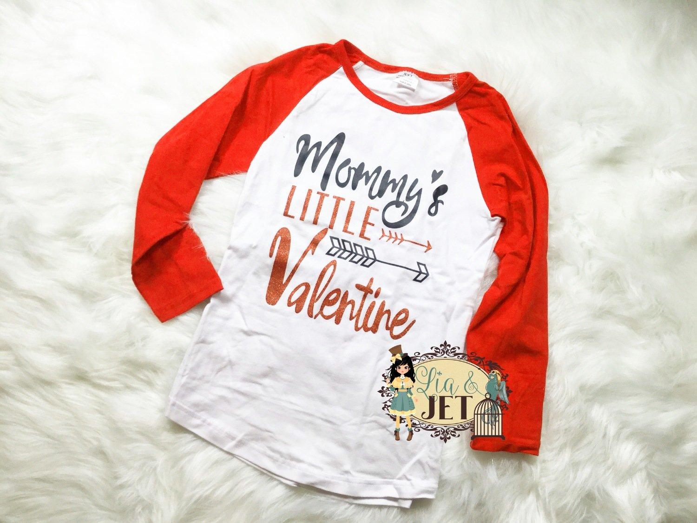 Mommy's Valentine Raglan