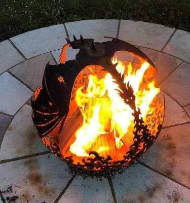 800mm Flying Dragon Firepit