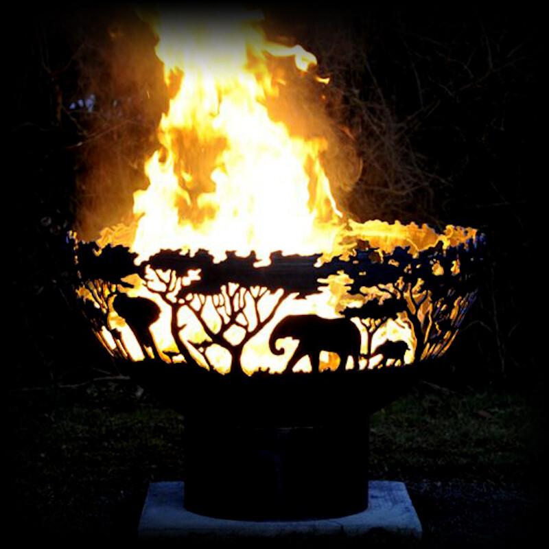 650mm Africa Firepit Bowl