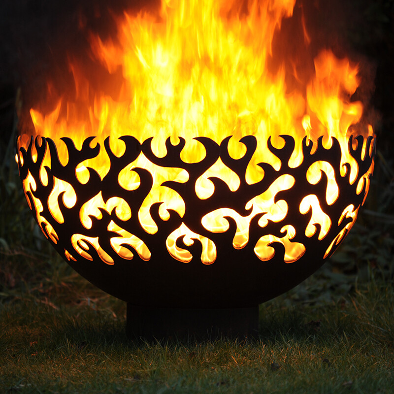 800mm Flame Firepit Bowl