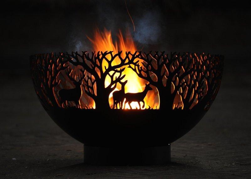 650mm Winter Firepit Bowl