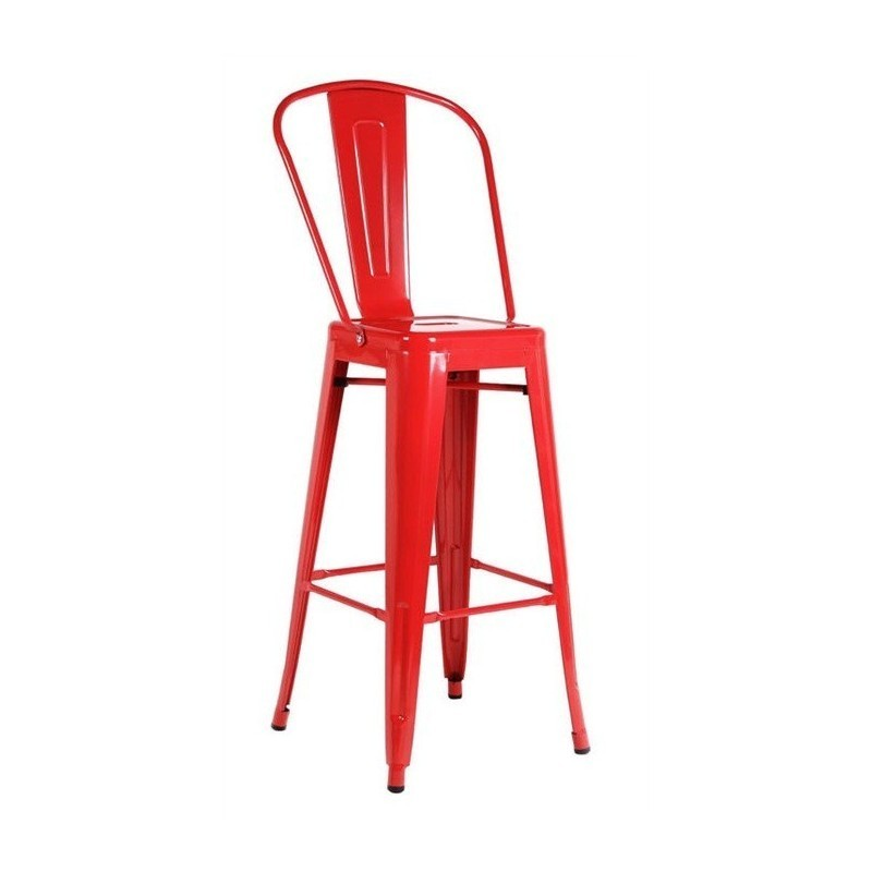Taburete H'TOL Rojo