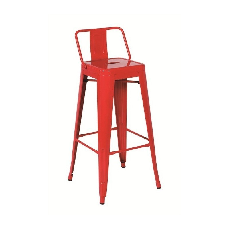 Taburete B'TOL Rojo