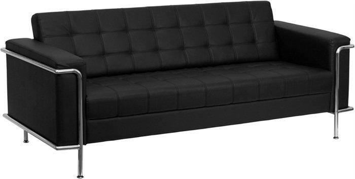 Sofa Aedea Negre 3 places
