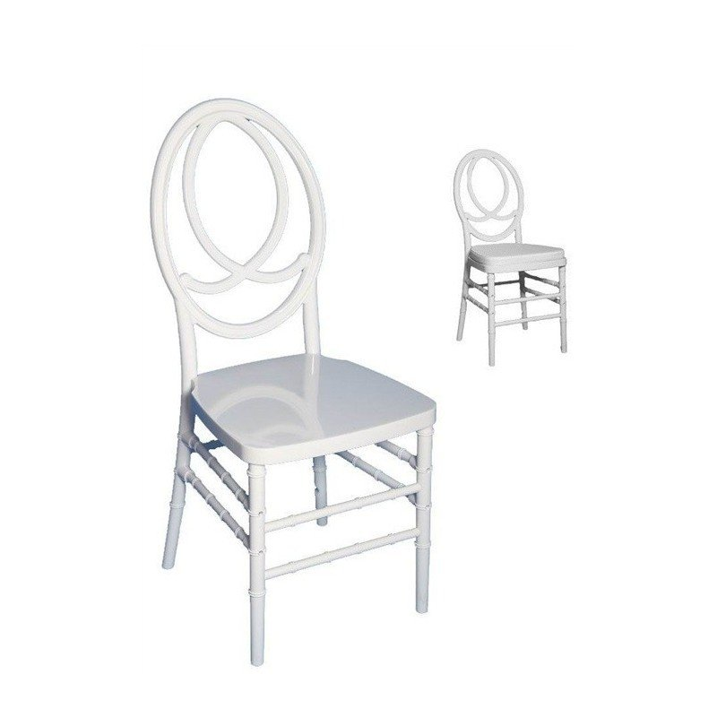 Cadira Fenix Policarbonat Blanc