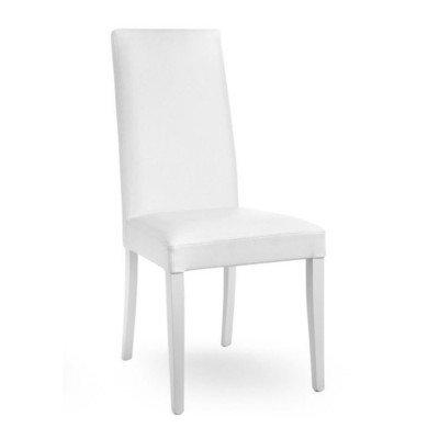 Cadira Denny Fusta Blanca