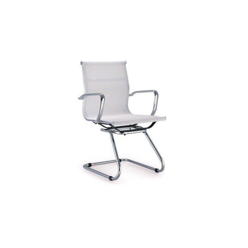 Cadira Fixa Nevada Malla Blanca