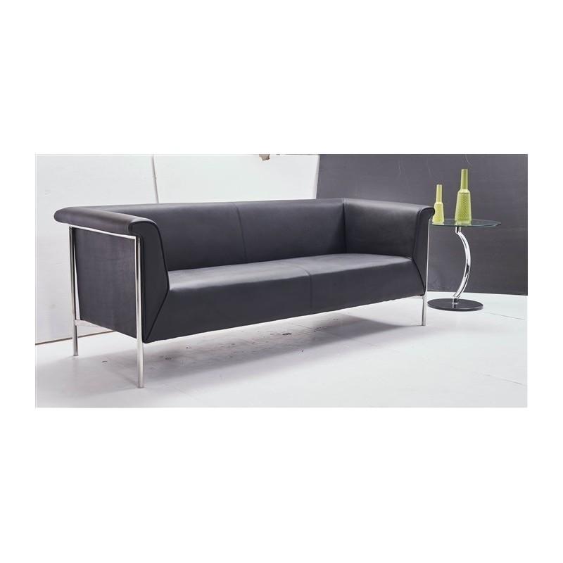 Sofa Hermes Negre 3 places