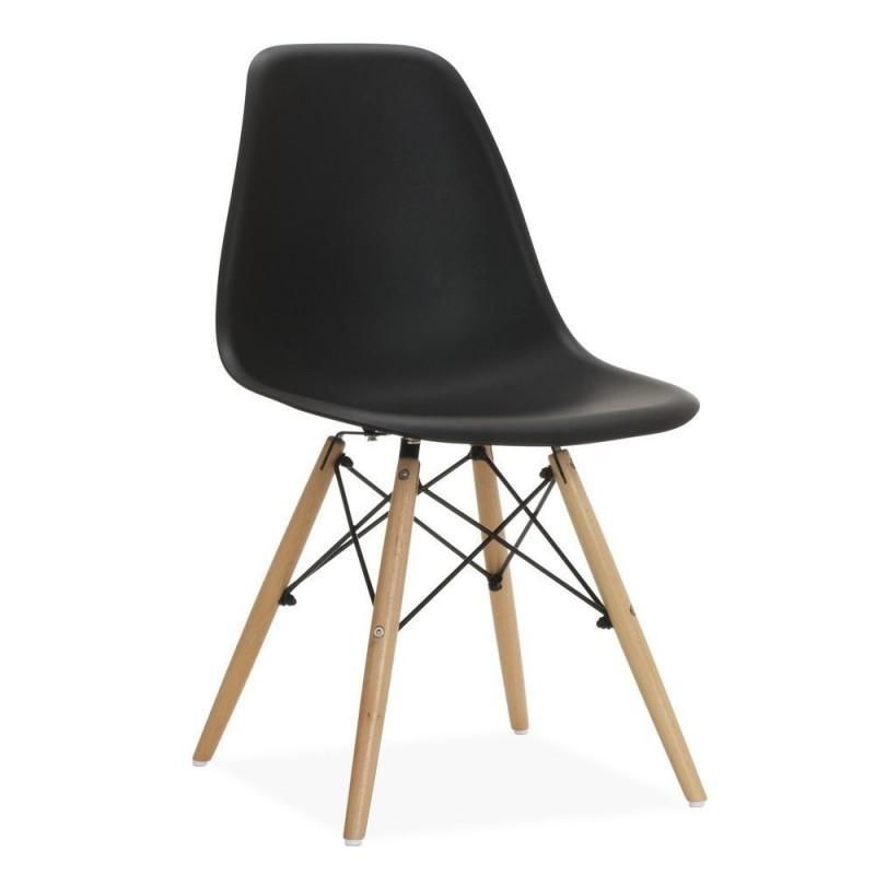 Cadira Stower Negra