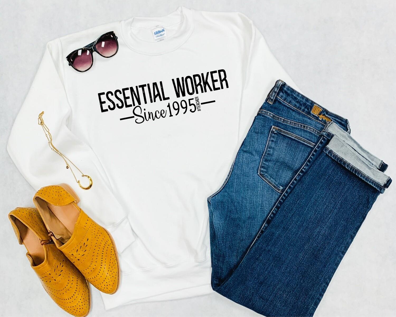 Essential Worker Crewneck