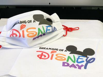 Limited Edition Fun Masks-Dreaming Disney
