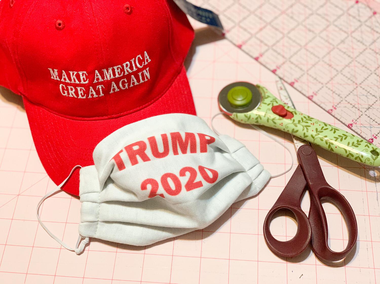 Limited Edition Fun Masks-Trump 2020