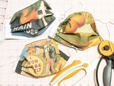 Limited Edition Fun Masks-Riverside Raincross