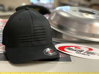 Black USA Flag Hat