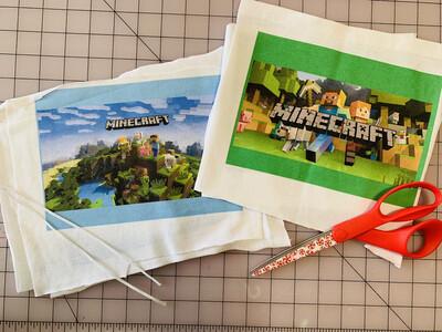 Limited Edition Fun Masks-Minecraft