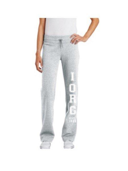 Ladies Fleece Pants- Grey