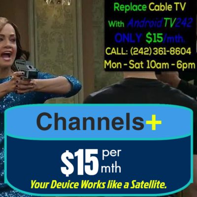 Channels+ (1 Month) IPTV Package - Over 5000 Channels, All Sports Packages, Movie Channels, etc.  (Miami Channels and Local Channels ZNS, Cable 12 Included.) FOR FIRE STICKS & ANDROID BOXES.