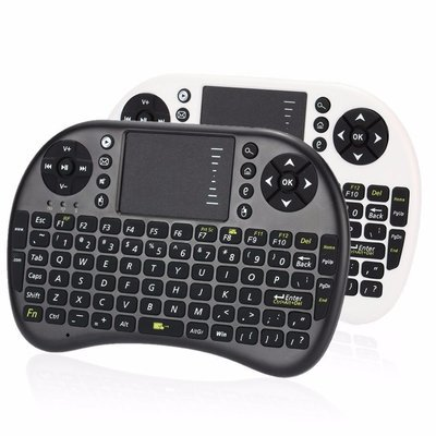 (Optional) LCE Rii Mini Touch-pad & QWERTY Keyboard Android TV Box Controller. FOR FIRE STICKS & ANDROID BOXES