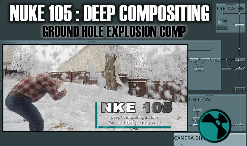 NKE 105 - Deep Compositing in Nuke