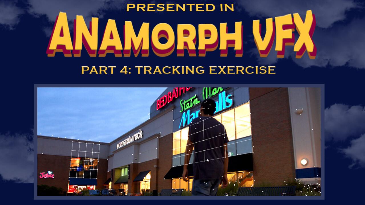 Anamorphic Tracking Exercise