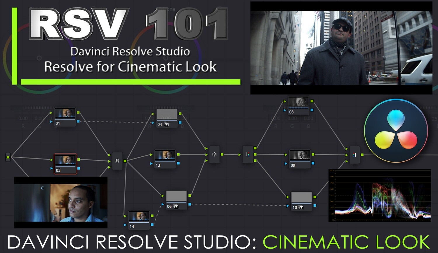 RSV 101- Davinci Resolve for Cinematic Look
