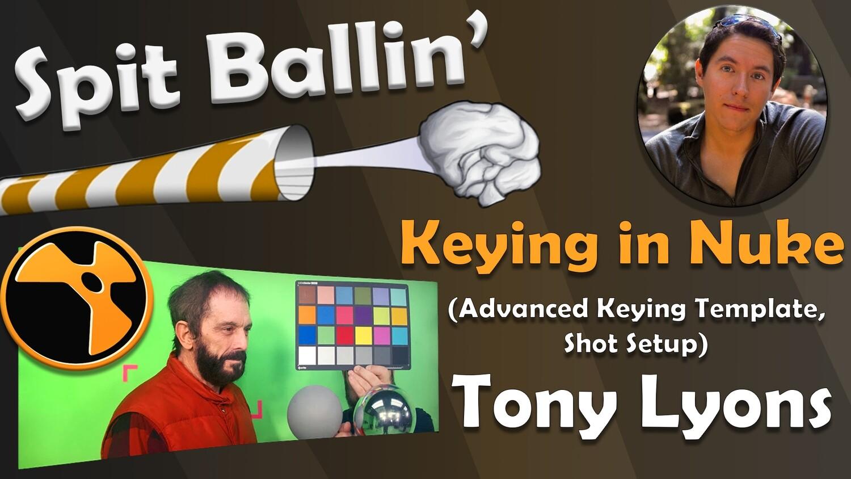 Spit Ballin' Episode 1 Keying in Nuke