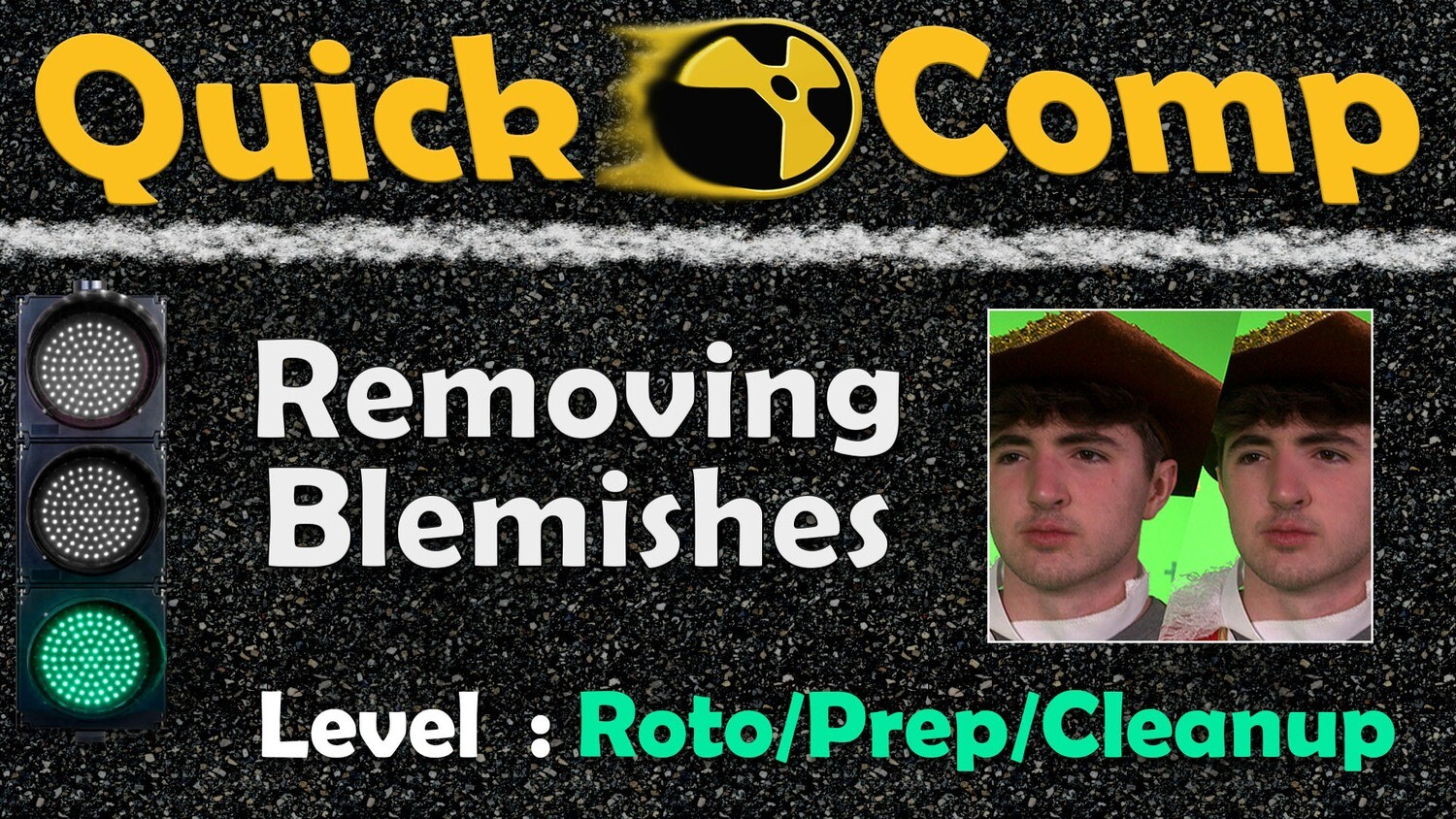 Quick Comp 1: Removing Blemishes