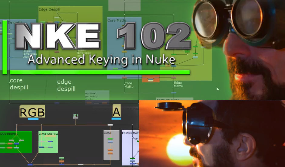 NKE102- Advanced Keying in Nuke
