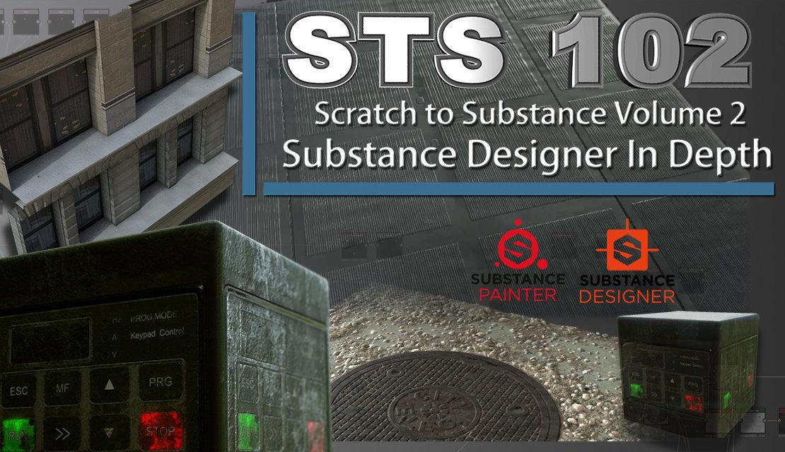 Scratch to Substance V2: Substance Designer In Depth