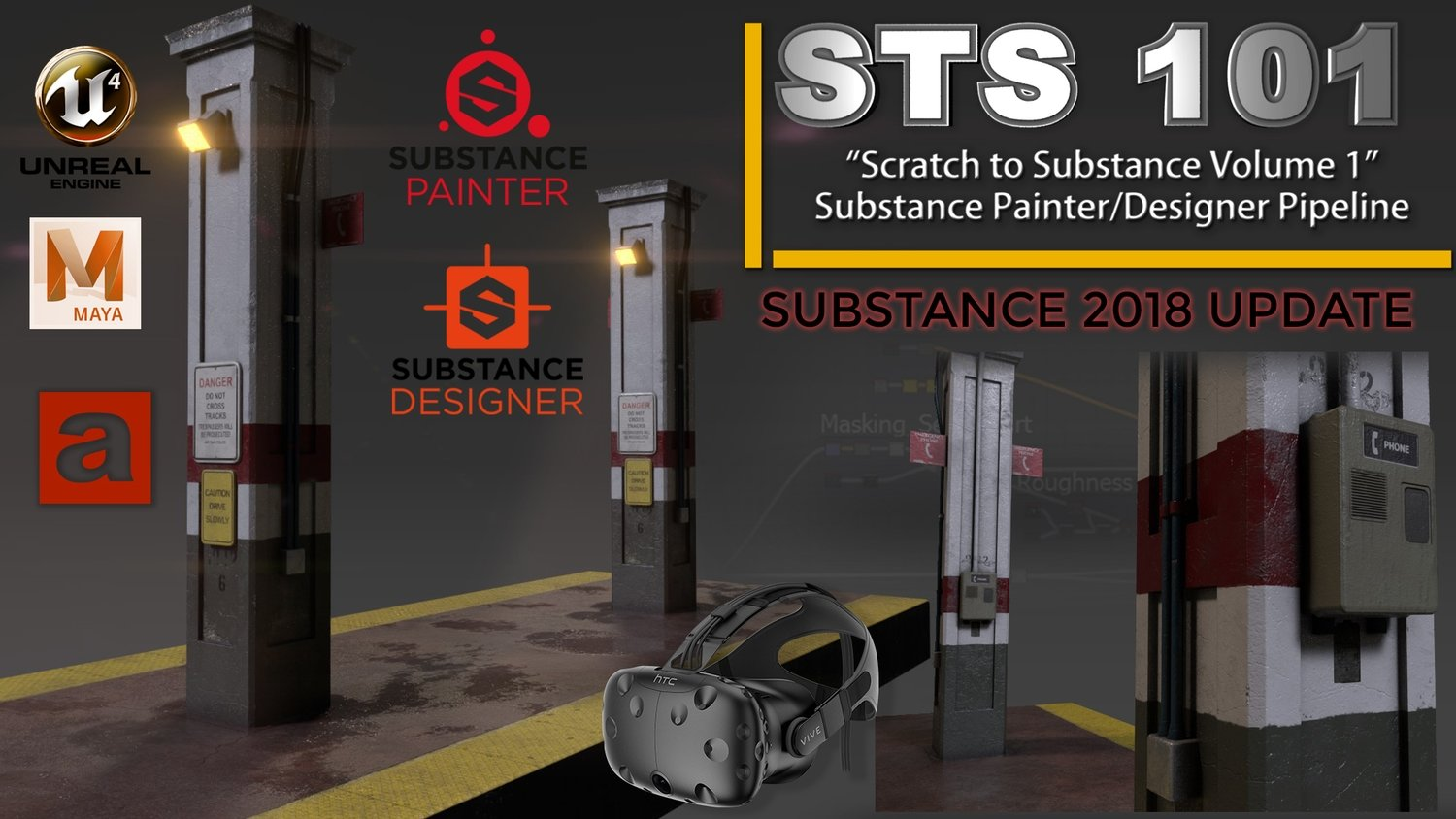 Scratch to Substance V1: Substance Painter/Designer