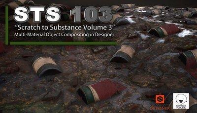 Scratch to Substance V3: Multi-Material Compositing/Designer
