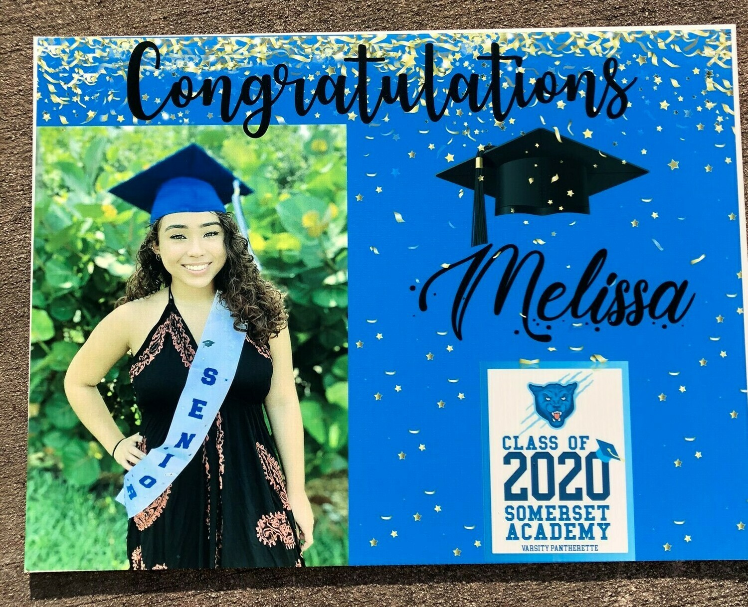 Graduation/birthday yard signs