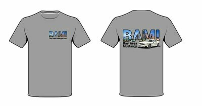 BAM! T-Shirt with Logo on Front and Back