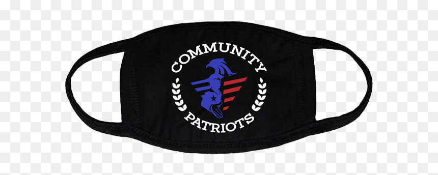 Community Patriots Face mask
