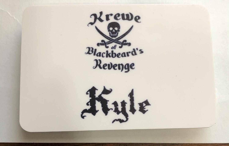 KBR Name badge