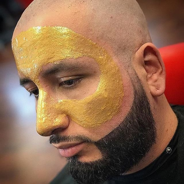 24kt Gold Peel Off Face Masque