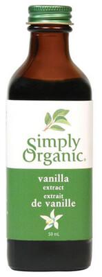 Simply Organic - Extrait de vanille biologique 118ml
