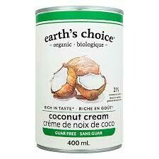 Earth's Choice - Creme de coco bio 400ml