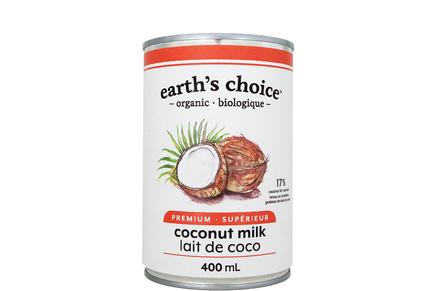 Earth's Choice - Lait de coco superieur biologique 400ml