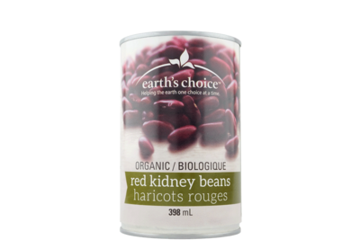 Earth's choice - Haricots rouges bio 398ml