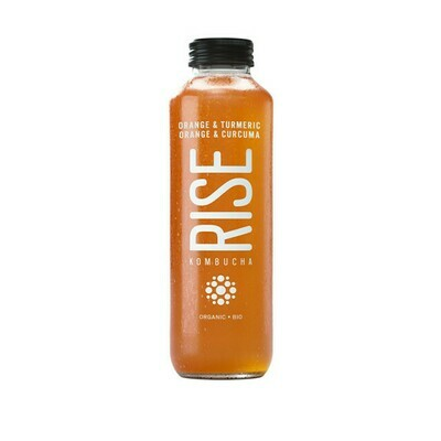 Rise - Kombucha Orange & curcuma 414ml