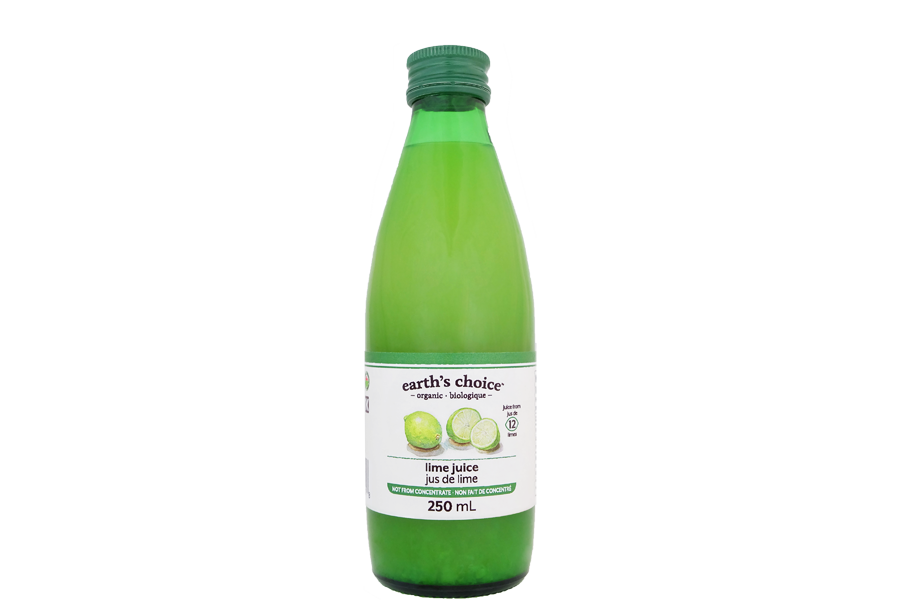 Earth's Choice - Jus de lime bio 250ml