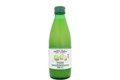 Earth's Choice - Jus de lime bio 250ml